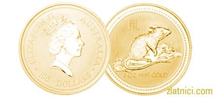 Prigodni zlatnik kineski kalendar, Australija