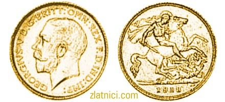 Zlatnik Sovereign Georgivs V, Australija