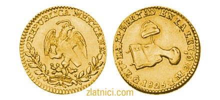Zlatnik 1 escudo Libertad, Meksiko