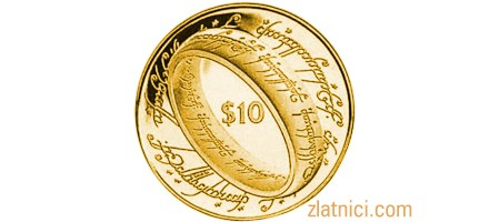 Zlatnik 10 dollars Lord of the Rings, Novi Zeland