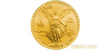 Investicijski zlatnik Libertad, Meksiko