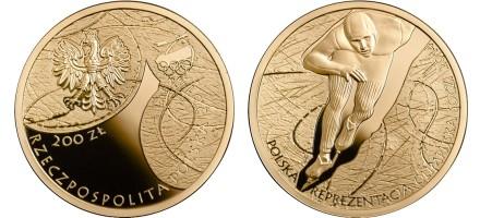 Zlatnik 200 zloty Soczi, Zimska olimpijada 2014