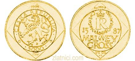 Zlatnik 5000 koruna, Češka Republika