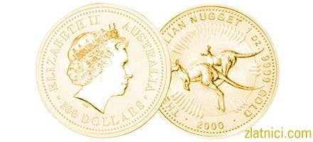 Investicijski zlatnik Grumen-klokan, Australija