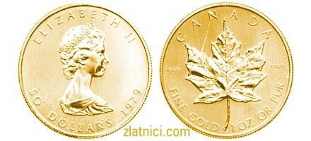 Investicijski zlatnik Javorov list, Kanada
