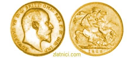 Zlatnik Sovereign Edwardvs VII, Australija