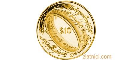 Zlatnik 10 dollars Lord of the Rings, Novi Zeland