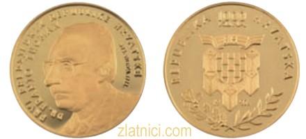 Zlatnik 1000 kuna dr. Franjo Tuđman, Hrvatska