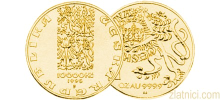 Zlatnik 10000 koruna, Češka Republika